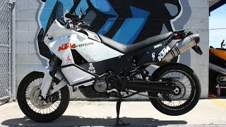 7. 2011 KTM Adventure 990 ABS ... The Do It All Sport Adventure Moto!