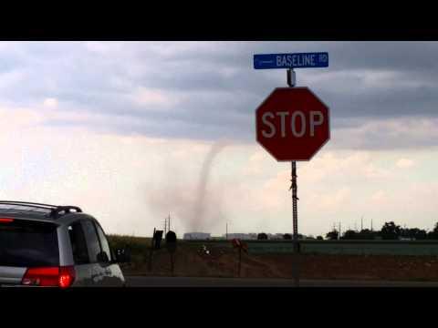 Tornado in Fort Lupton, CO