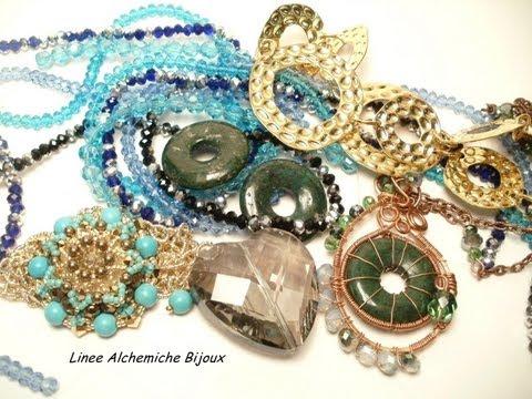Pacchetto regalo ciondoli a peyote,pietre dure,catene e componenti da Fata Morgana