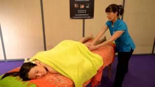 INSTITUT INDIANA :démonstration Du Massage Balinais Avrilexpo 2012