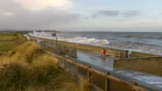Towyn United Kingdom  city photos : Prestatyn Rhyl 3.1.2014 - UK North Wales tidal wave surge flood high tide flooding
