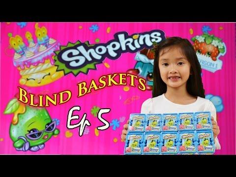 Shopkins SEASON 1 | Blind Baskets | EP 5