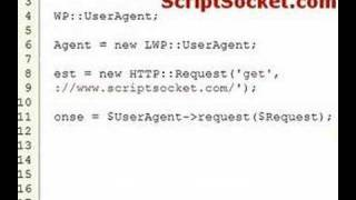 Perl Tutorial 46 - LWP::UserAgent - Emulate A Browser