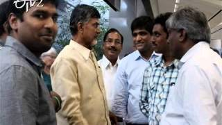 Chandrababu Naidu receives grand welcome by US NRIs