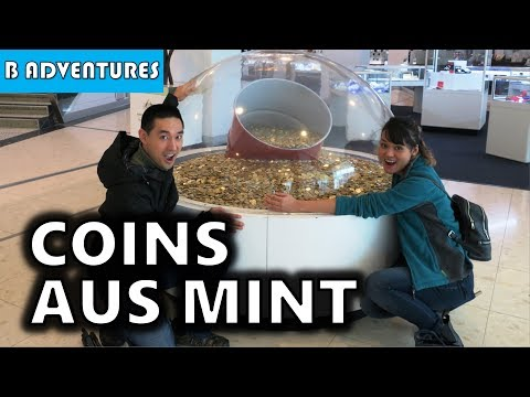 Coins at Royal Australian Mint