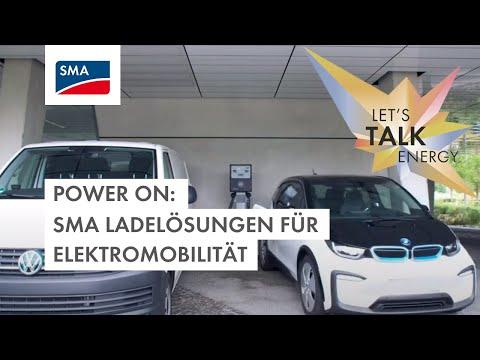 SMA POWER ON Event: SMA Ladelösungen für Elektromobilität