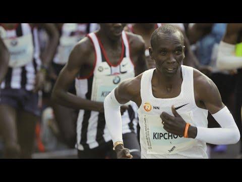 Berlin-Marathon: Kipchoge bricht den Weltrekord