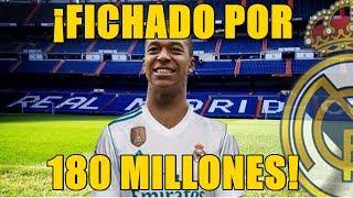 Mbappé fichará por el Real Madrid tras el pago de 180 millones de euros. Una operación económica absolutamente brutal y de récord histórico en el fútbol, que ...