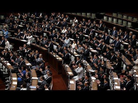 Ιαπωνία: Ψηφίστηκε ο νόμος για την κινητοποίηση στρατού στο εξωτερικό