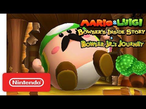 Story Trailer - Nintendo 3DS de Mario & Luigi Voyage au centre de Bowser + L'épopée de Bowser Jr