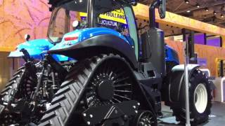 Traktor New Holland T8.435 Auto Command, Agritechnica 2015