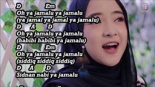 Video YA JAMALU SABYAN chord lirik MP3, 3GP, MP4, WEBM, AVI, FLV Juni 2018