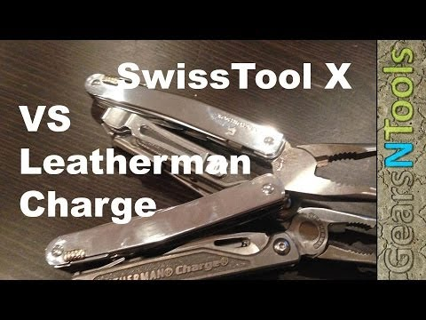 Victorinox SwissTool X vs Leatherman Charge TTI which tool is the best deal