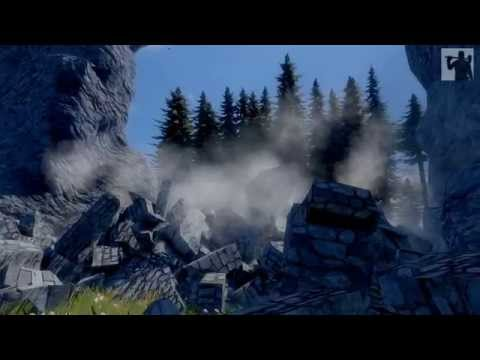 Destroying Castles with Realistic Physics