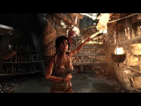 New Tomb Raider Video Shows Off AMD TressFX Hair Tech