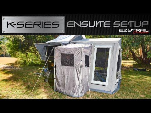 Ezytrail Campers K-series Ensuite Setup