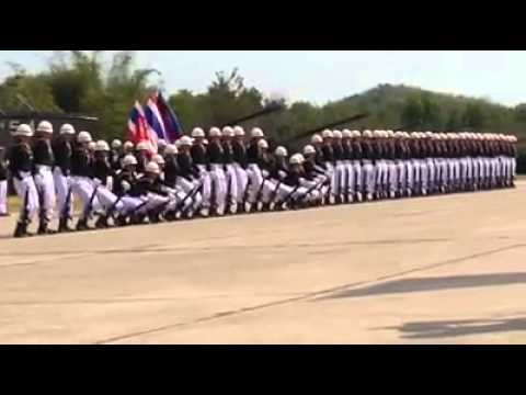 Thai Military Synchronized Show