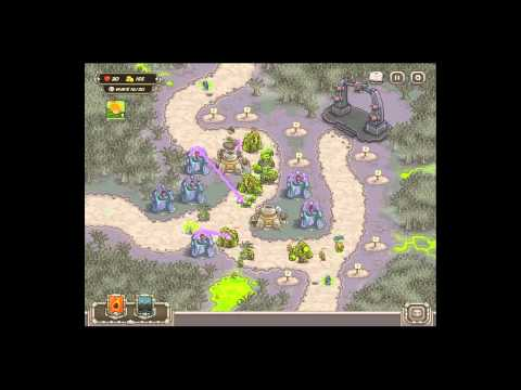 Kingdom Rush - Rotten Forest - Campain Normal