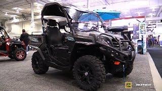 4. 2018 Cfmoto U-Force 500 Utility ATV - Walkaround - 2017 Toronto Snowmobile ATV Show
