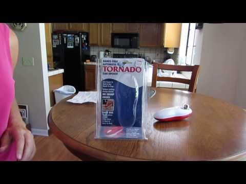 The Tornado As Seen On TV Can Opener- My New Gadget