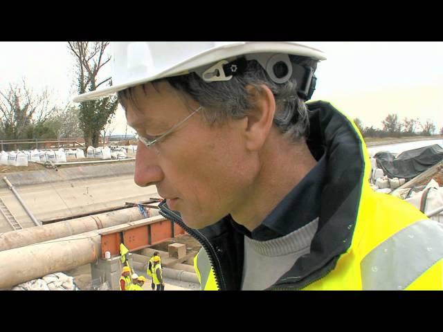 Travaux de maintenance du canal Philippe Lamour - OR22