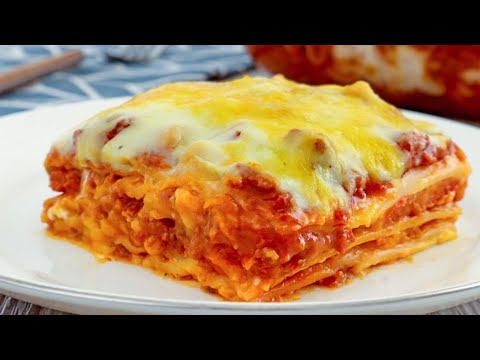 How to Make Filipino-style Lasagna (with Baked or No-bake methods)