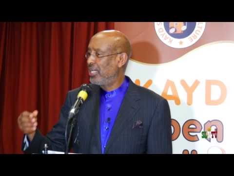 Lecture On Culture By Professor Samatar