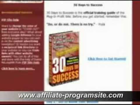 Affiliate program, the best affiliate list