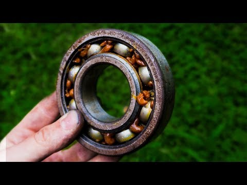 Bearing Forged Into Fine Woodworking Tool