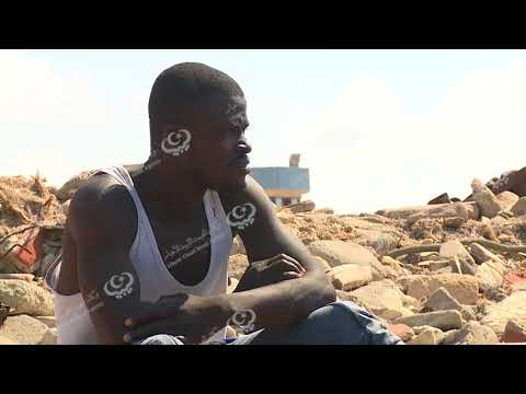 إنقاذ (82) مهاجرا غير قانوني شرق القره بوللي وإنتشال جثة واحدة