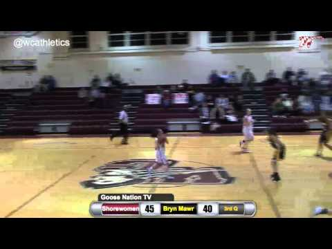 Shorewomen Basketball Top Plays v. Bryn Mawr