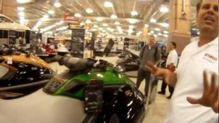 7. 2012 Yamaha FX Cruiser SHO Wave Runner at Atlantic City Boat Show by ABK VIDEO