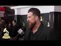 Zach Williams | Red Carpet | 59th GRAMMYs