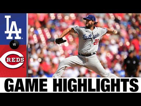 Dodgers vs. Reds Game Highlights (9/19/21)   MLB Highlights