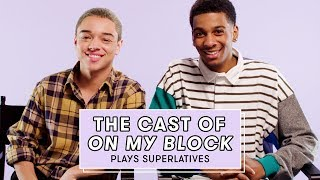 The Cast of Netflix's On My Block Reveals Who's Most Likely to Share a Spoiler and More by Seventeen Magazine