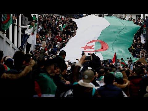 Algerien: Massenproteste gegen Präsident Bouteflika