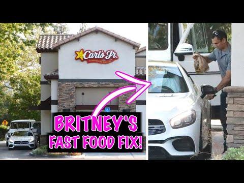 Britney Spears Can't Resist Junk Food After Major Turn In Conservatorship Case