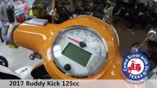 9. 2017 Buddy Kick 125cc motor scooter