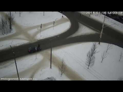 Авария с пешеходом в Петрозаводске