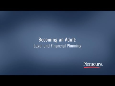 Becoming an Adult: Legal and Financial Planning