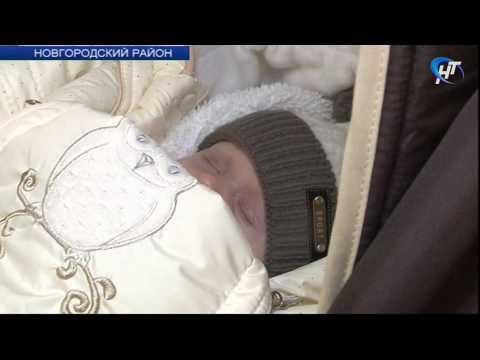 В Панковке состоялась торжественная регистрация 1000-го новорождённого Новгородской области