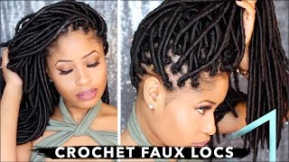 Video How To ➟ CROCHET FAUX LOCS 🔥 (NO cornrows, NO wrapping, free-parting!) MP3, 3GP, MP4, WEBM, AVI, FLV Juni 2018