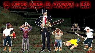 Cj Junior juega El Ayuwoki Exe - Parte 1 - Loquendo - Gta san andreas