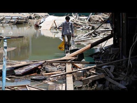 Ιαπωνία: 141 νεκροί από τις πλημμύρες και τις κατολισθήσεις …