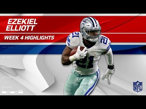 Video: Ezekiel Elliott's Strong 2 TD Effort vs. Los Angeles! | Rams vs. Cowboys | Wk 4 Player Highlights
