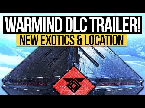 Destiny 2 News | WARMIND TEASER TRAILER! DLC Exotics, Horde Mode, Suros Regime & New Subclass?