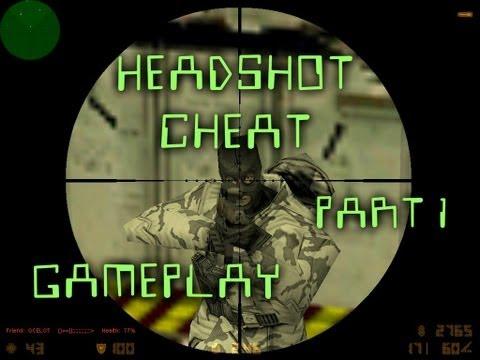 Counter Strike 1.6 - HeadShot Cheat - de_dust2 - Part1 - Expert