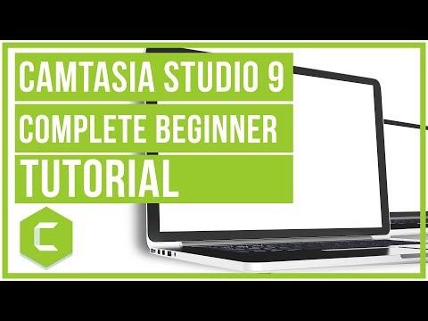 Camtasia Studio 9 Complete Beginners Tutorial - Screencast Like A Pro