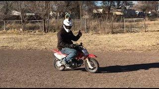 6. TOP SPEED - Honda CRF50F - Adult rider