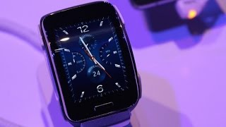 Cam takes a quick look at the brand new wearable in the Gear range. Unlike previous iterations of the Gear, Samsung's added a SIM card slot so you can take i...